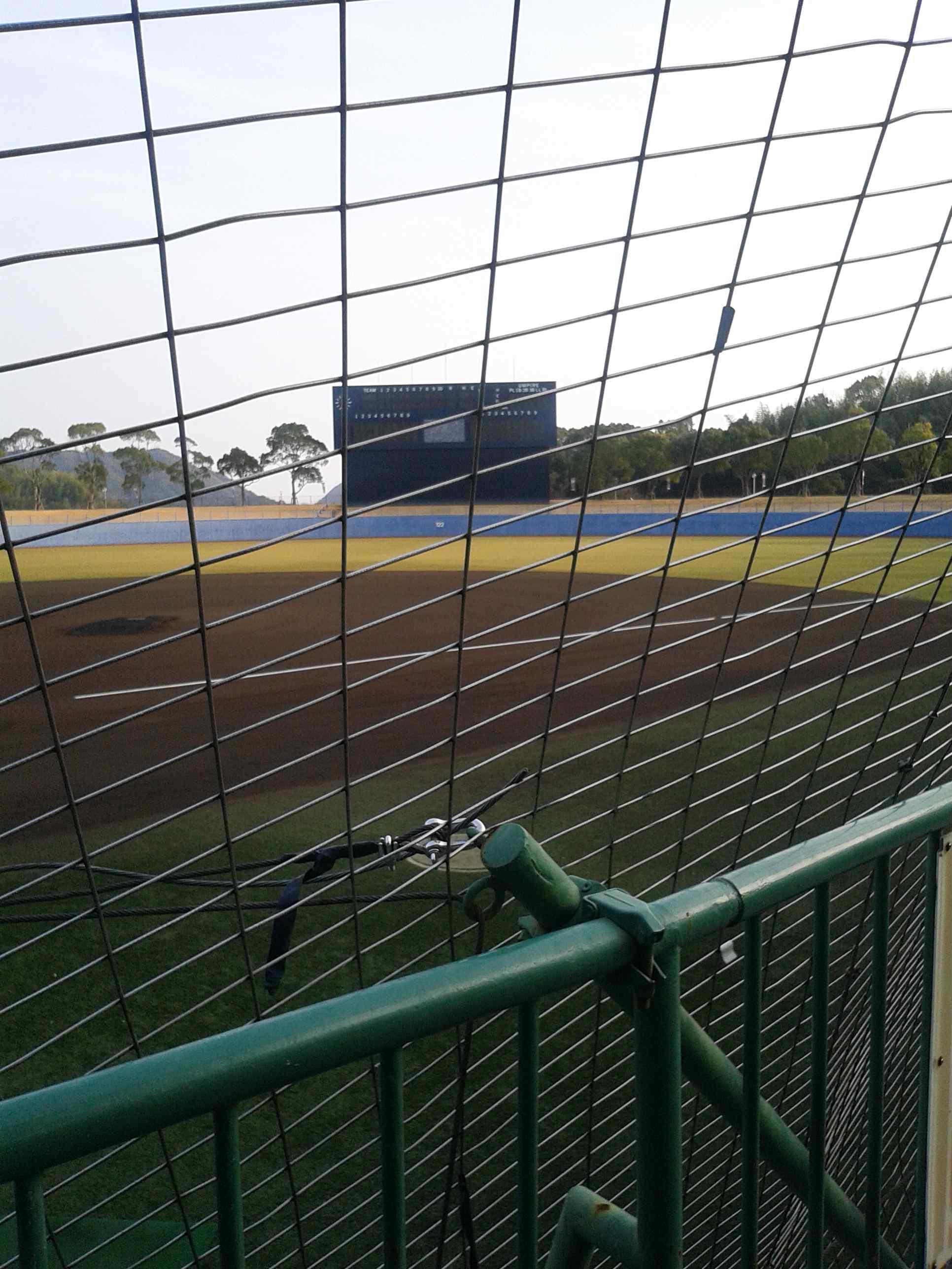 春野運動公園野球場