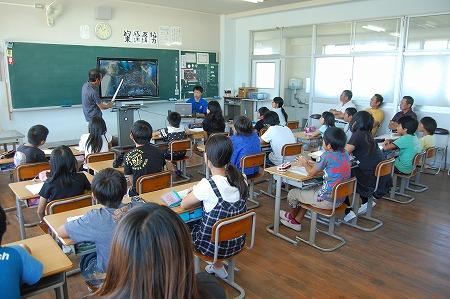 港小学校で開催された「水産教室」に行ってきました・・・ | 有田 ...