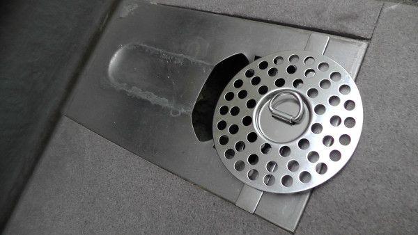 サンエイ(三栄水栓)の万能排水皿「PH40F-2-S」