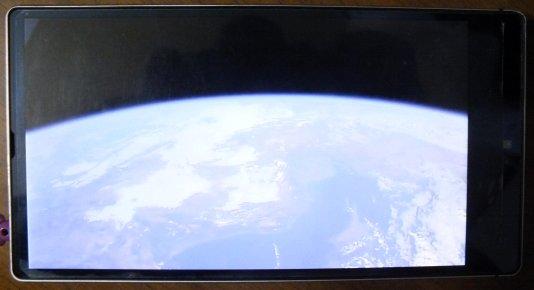地球は今日も青い