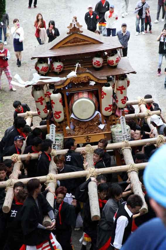 川田八幡神社の秋祭り-03♪