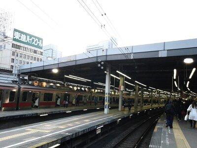 渋谷駅東横線2013年3月・1