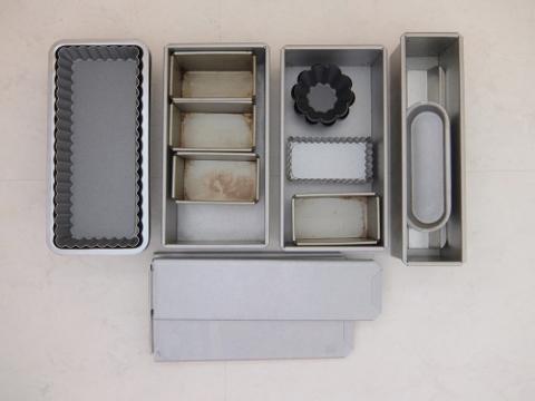 クッキー型 モールド 製菓道具 収納 技 術 整理 パン