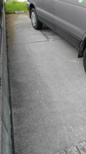 きれいになった駐車場