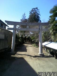 鷲神社の入り口1