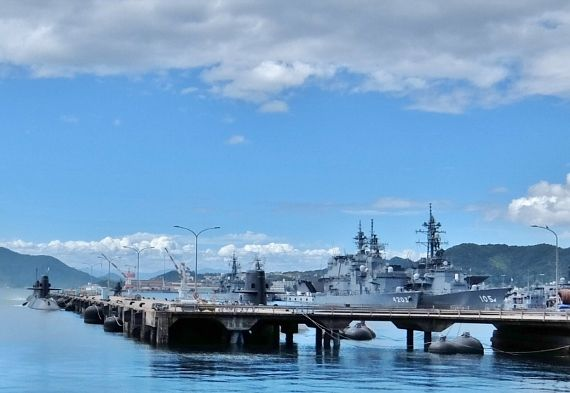 海上自衛隊第1術科学校 旧海軍兵学校 見学 呉 広島 アレイからすこじま