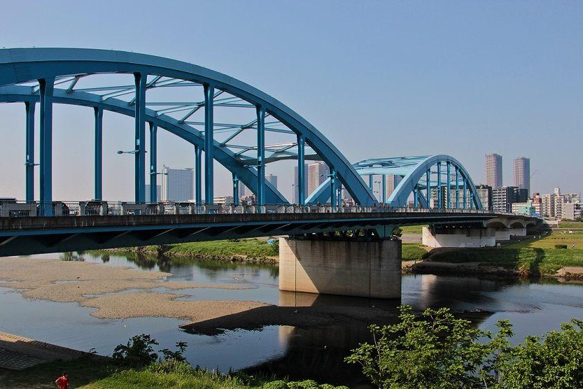 青いローゼ橋 丸子橋   清多夢くらぶ - 楽天ブログ