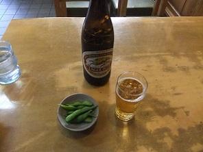 柳原2丁目・やなぎ家のビール