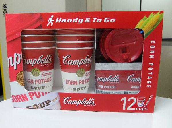 コストコ 円 キャンベル カップ コーンポタージュ Canmpbell's Handy & To Go Corn Potage