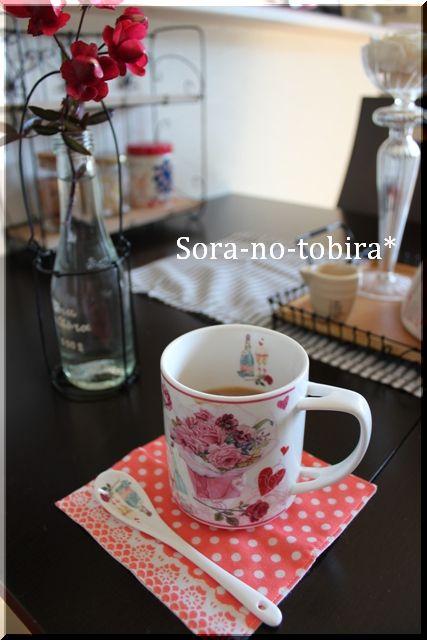 バラのカップ