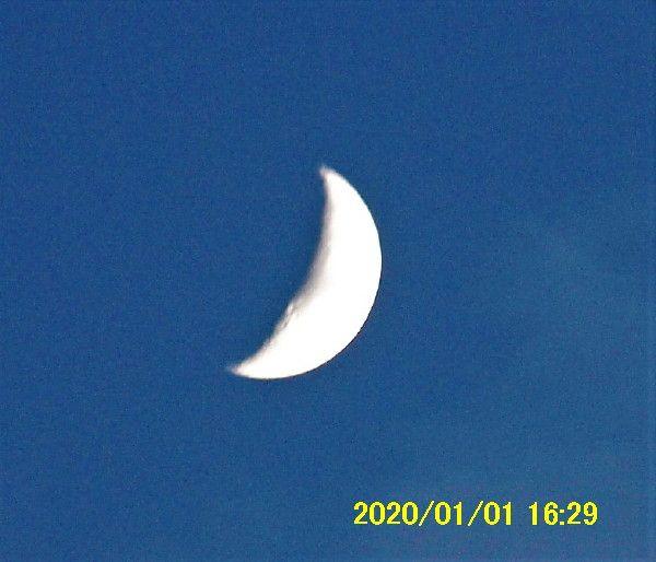 月 上弦 の