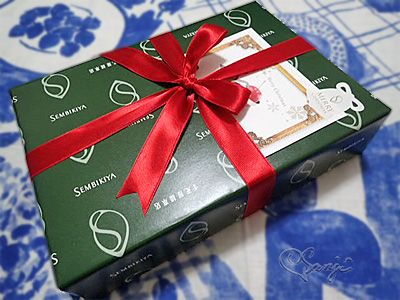 千疋屋総本店のクリスマス包装