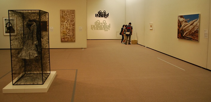 H26美術の冒険 展示室風景2