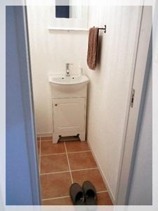 2階のお手洗い