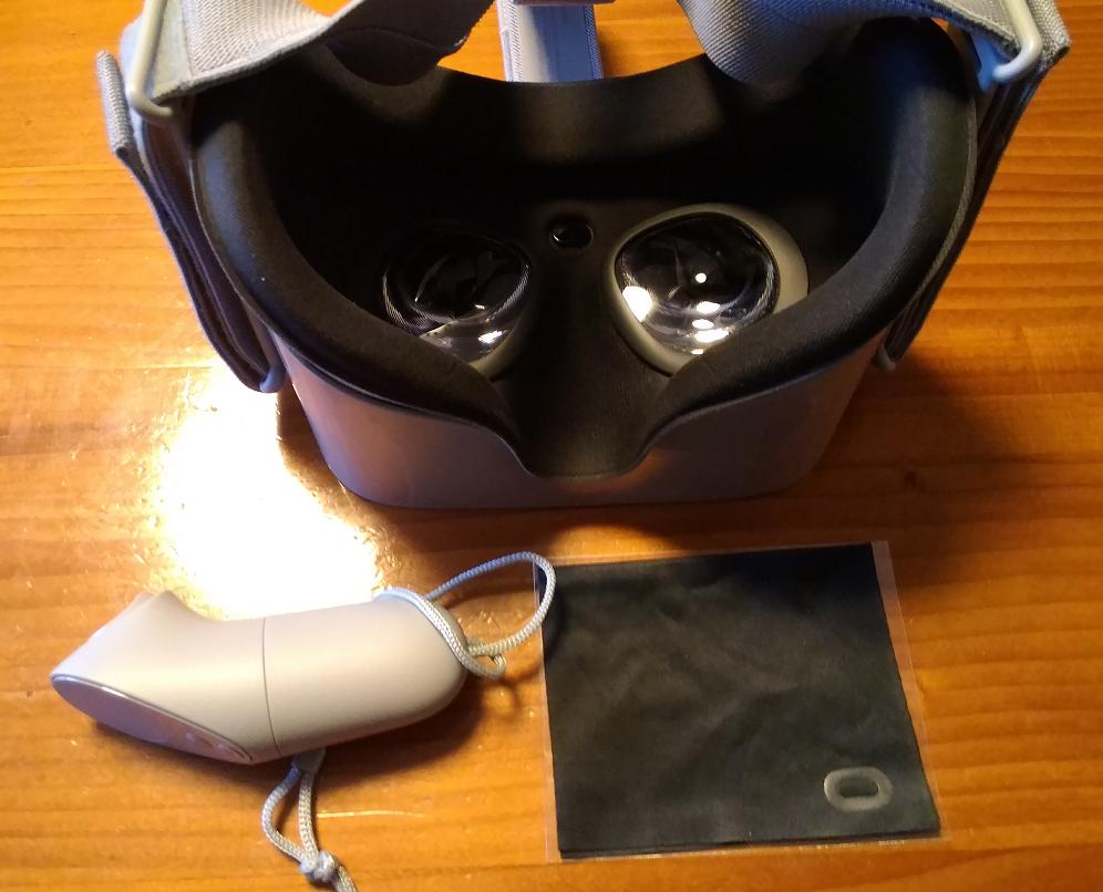 Oculus Go 内観