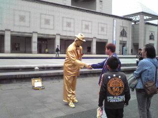 ヨコハマ大道芸2012・Mr.ゴールデン