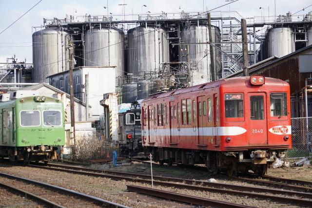 銚子電鉄仲ノ町駅&車庫2