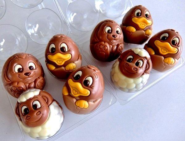 コストコイースターエッグ ミルクチョコレート 円 ベルギー ベルファイン Belfine Egg Bunny &Duckling かわいい
