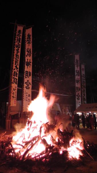 平地神明社 初詣