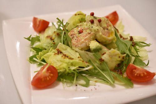 ハーブシュリンプのタルタル サラダ仕立て