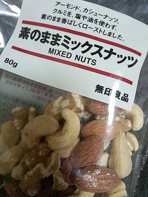 ぎっしり300g入り~☆ くるみはまるっと大きいのが入っていて、 他の種類のナッツ類も立派なものでした。 お味はどうかな~? 食べるのが楽しみです♪