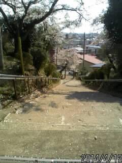 大田原神社の石段