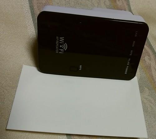 名刺より小さいWireless-N Mini Router