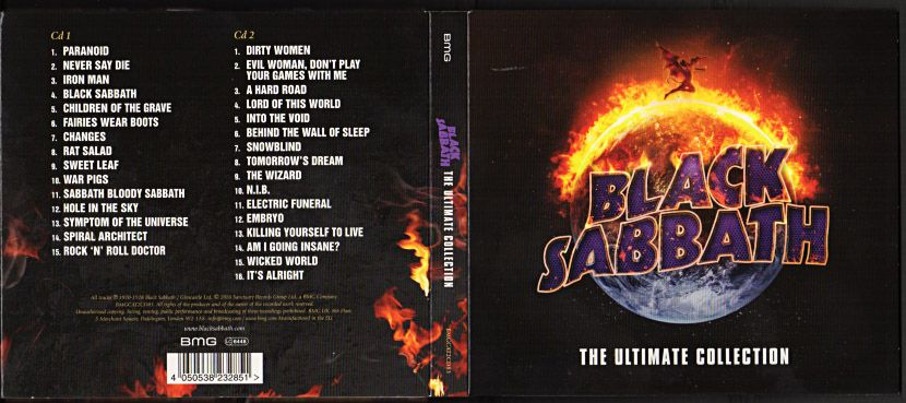 Black Sabbath The Ultimate Collection: BLACK SABBATH『The Ultimate Collection』/2016年発売