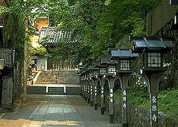 長楽寺門前