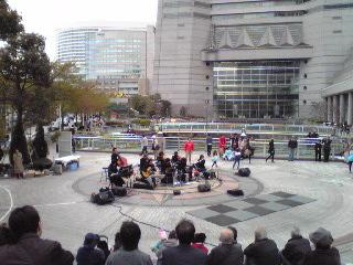 ヨコハマ大道芸2012・オルケスタYOKOHAMA