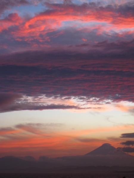 幻想的な雲