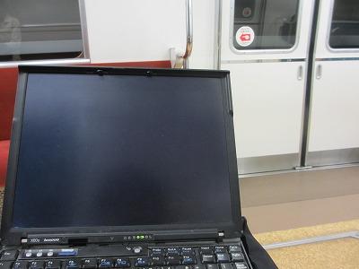 ノマドウォーカーは電車の中でも仕事する