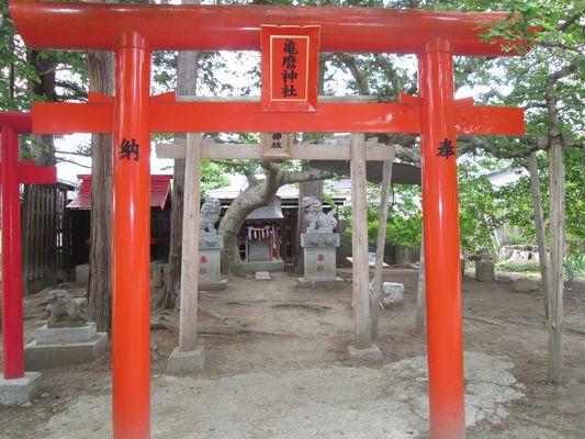 パワースポット 座敷わらし 亀麿神社1