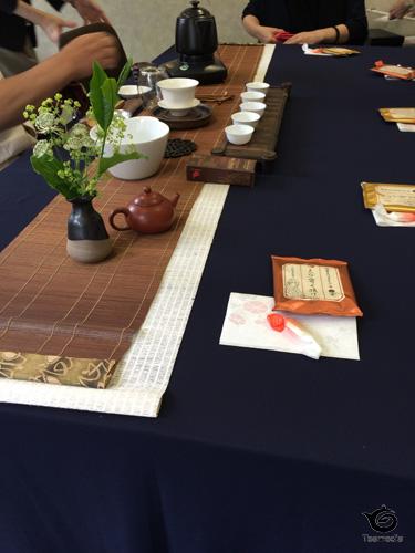 中国茶普及協会茶席