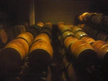 眠るワイン