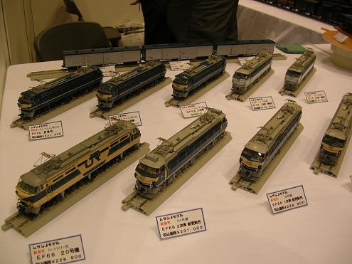 JAM 国際鉄道模型コンベンション ビックサイト ムサシノモデル EF66