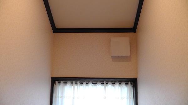2Fトイレの換気扇 マックス パイプ用排気ファンVF-H08TS3