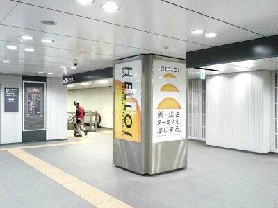 渋谷駅副都心線2013年3月・3