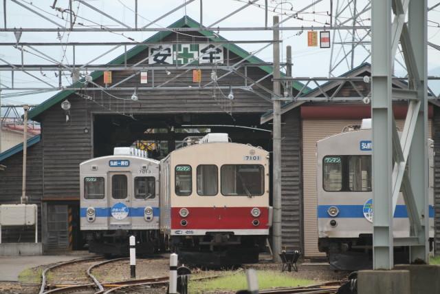 向日葵咲く 弘南鉄道 弘南線3