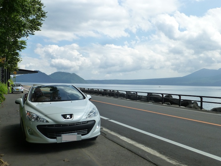 プジョー支笏湖1