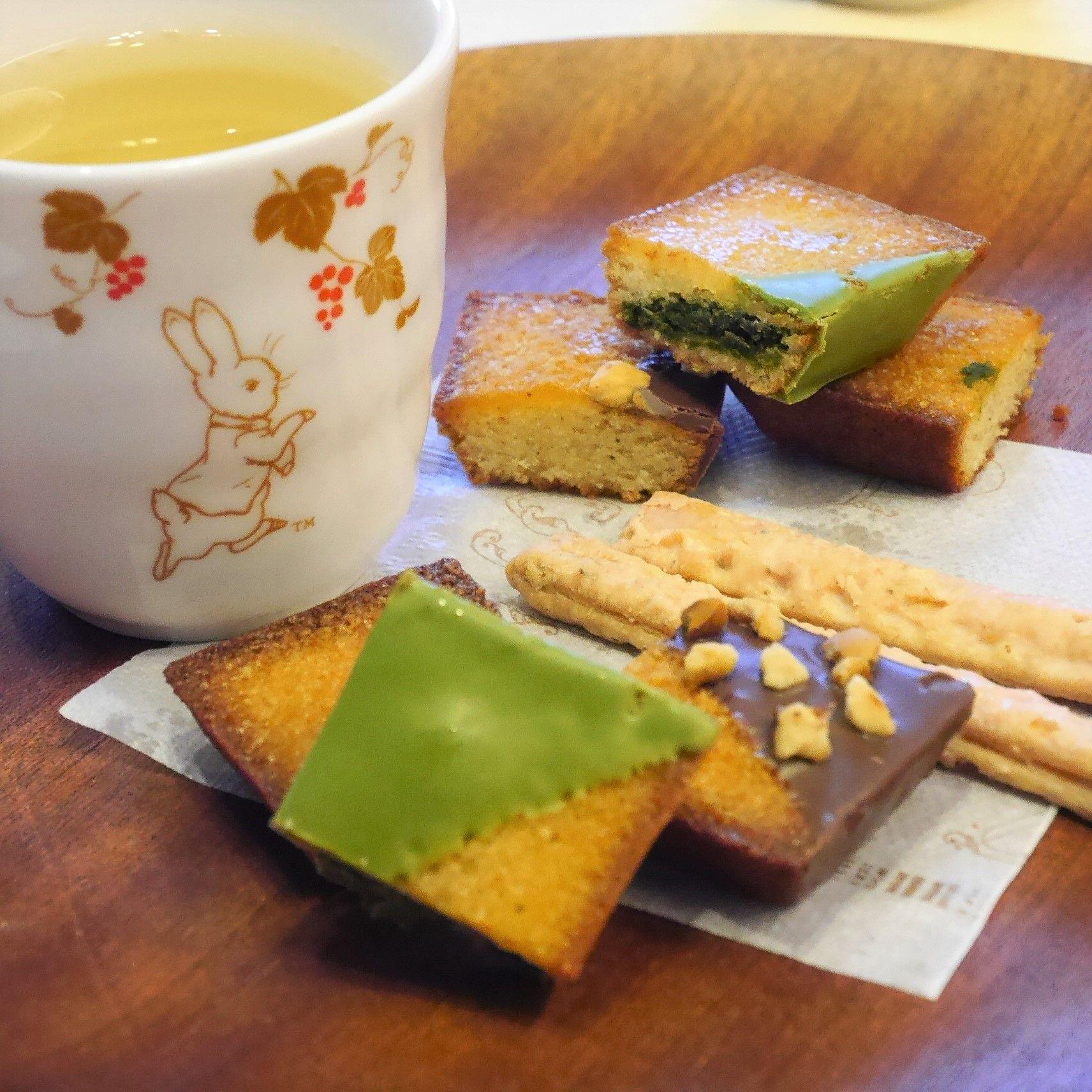 京都フィナンシェ&さくら煎茶