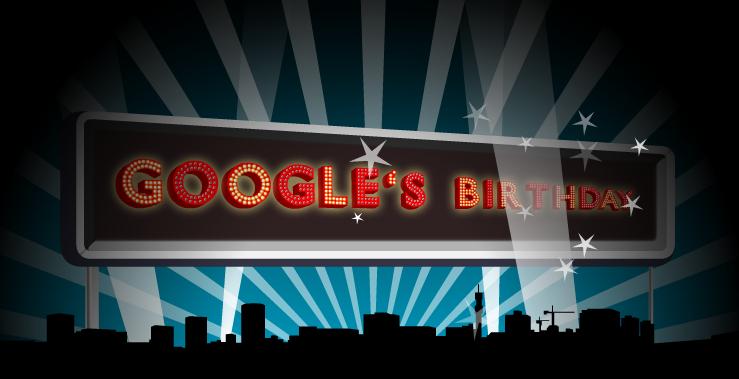 Google~2016創立記念日