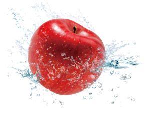 赤い果実のハリクリーム_りんご果実水