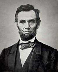 【Abraham Lincoln(1863年撮影)】 20170624.jpg
