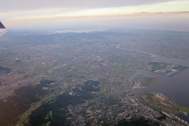空からの景色 豊橋~伊良湖水道 | 道草日記 旅・釣り・ワイン ...