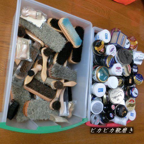 均 靴 磨き 100