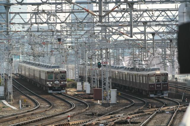 阪急 快速特急 京とれいん