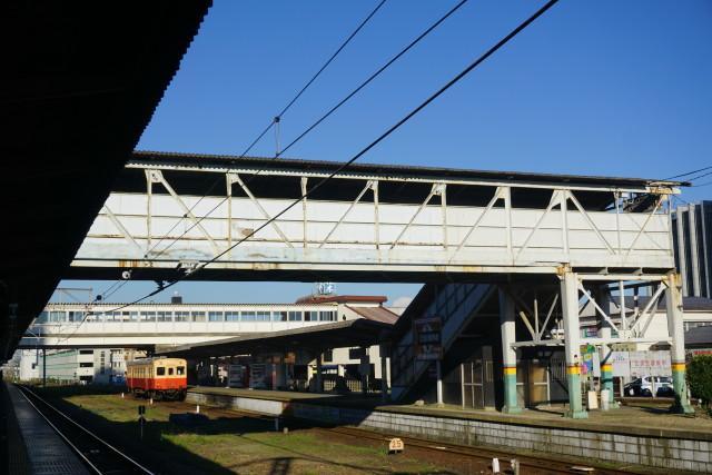 小湊鉄道 & JR 旧跨線橋の封鎖2