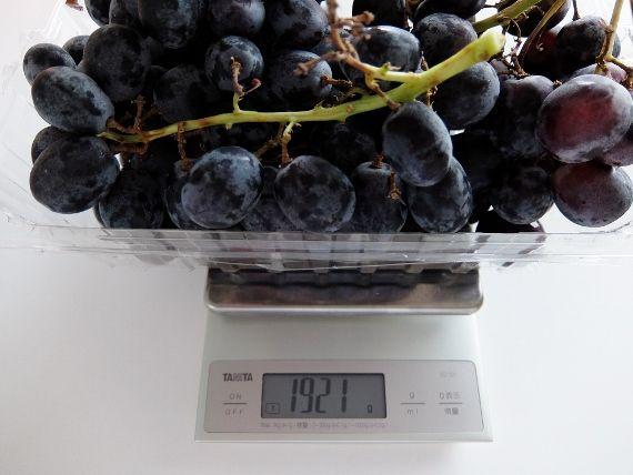 コストコ ブラックシードレス グレープ 1,398円 Adora Black Seedless Grapes  ブログ