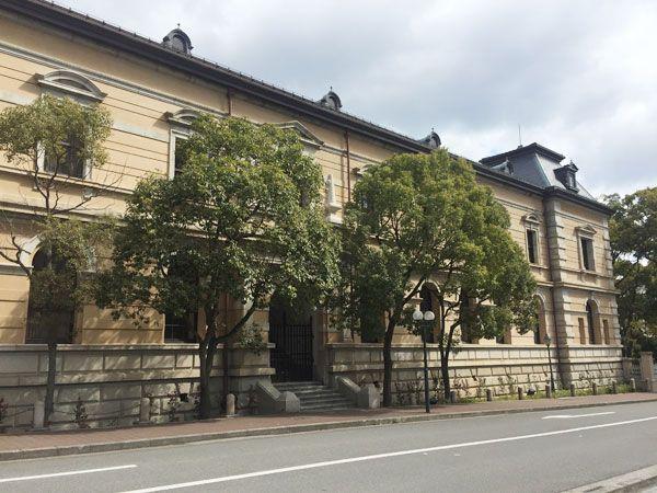 兵庫県公館(西側)